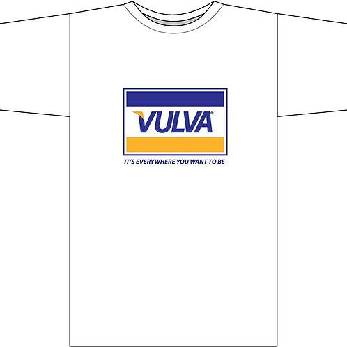 VULVA t-shirt (white)