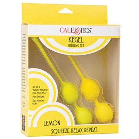 Kegel Training Set-Lemon