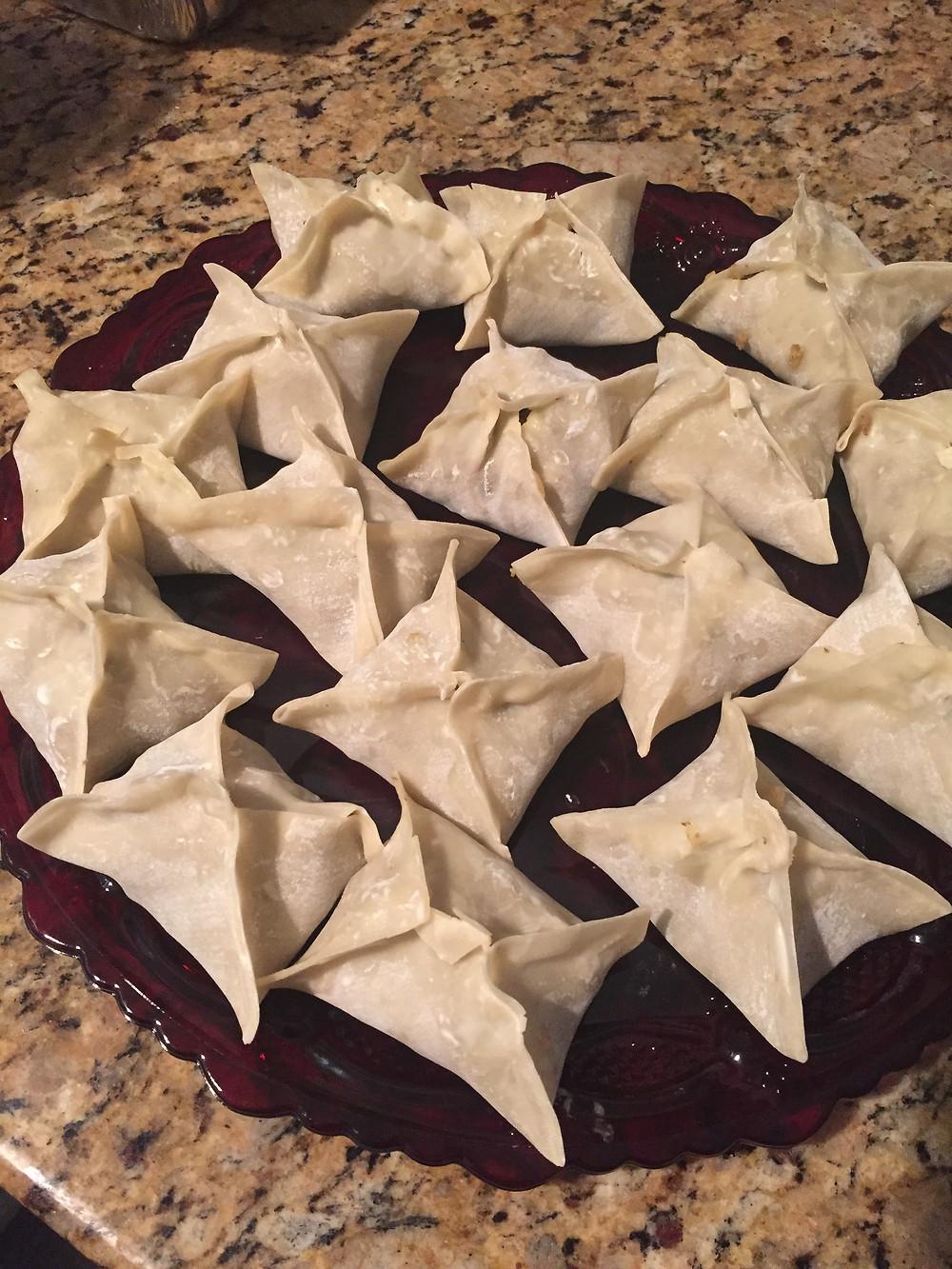 mantu, dumplings