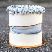 Marble Faultline Cake