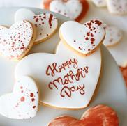 HAPPY MOTHERSDAY Fondant-Kekse