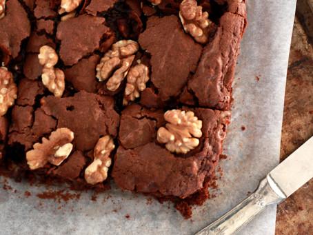 Walnuss Brownies