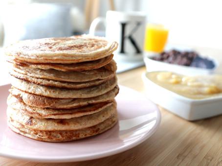 Vollkorn-Pancakes