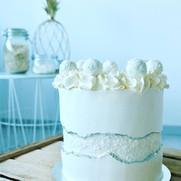 Raffaello Faultline Cake