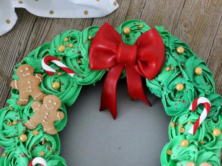 Adventskranz Cupcakes