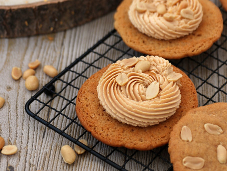 Peanutbutter Cookie Sandwiches
