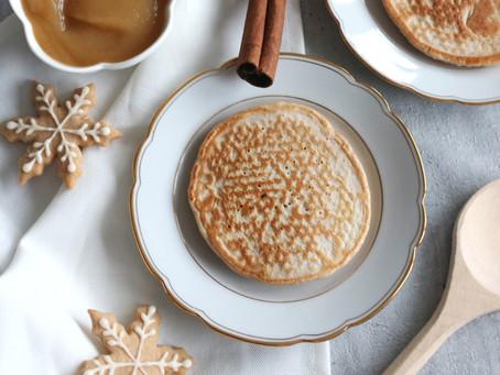 Spekulatius Pancakes