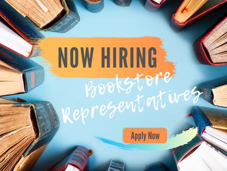 Bookstore Representatives Needed!