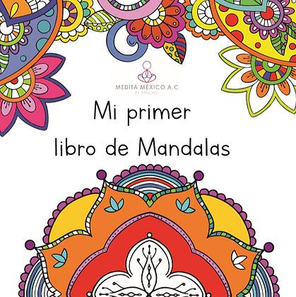 Libro de Mandalas para colorear para niños