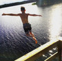 jump from sundeck at the sauna float.JPG