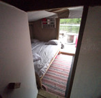 Bedroom from sauna