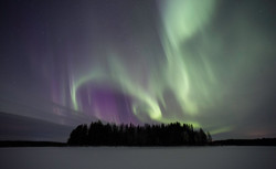 Inga ljusföroreningar på Aurora Safari Camp