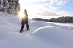Spännande snöskovandringar och andra aktiviteter