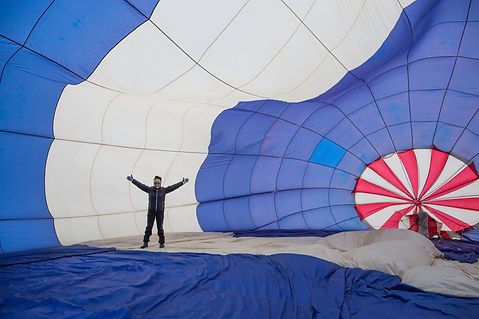 get involved in launching the balloon.jp