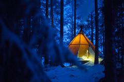 Ditt rum på Aurora Safari Camp