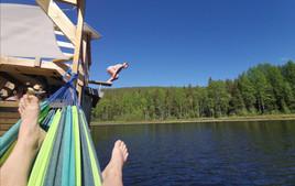 Relax, swim, fish, paddle!