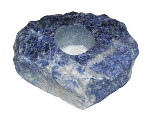 Candleholder: Sodalite