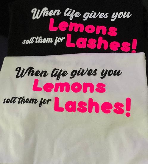 Lemons T-Shirt (Black)