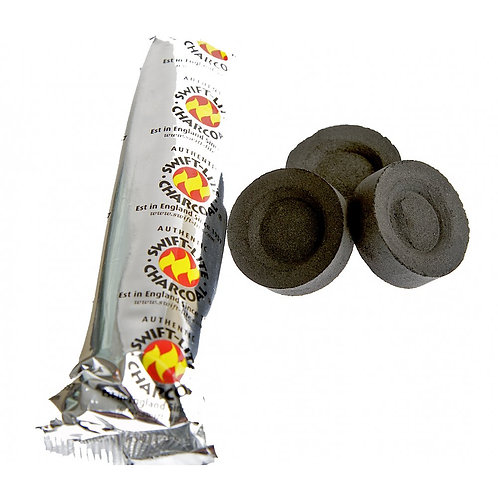 Pack of Charcoal (10 discs)