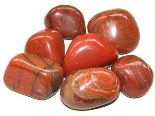 Lrg Red Jasper Tumblestones