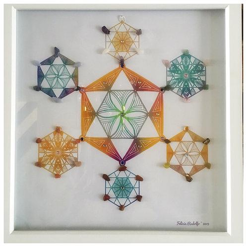 Chakra Balance Crystal Grid
