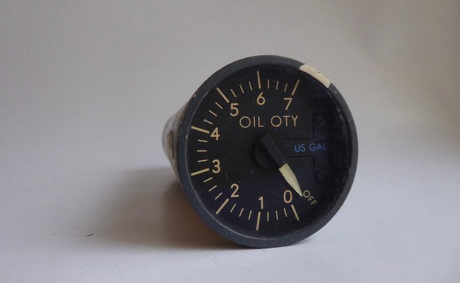 British Airways G-AWNA B747-100 no1 engine oil indicator