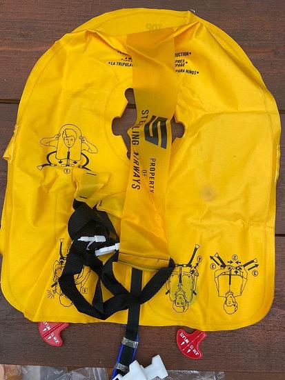 Sterling Airways life jacket