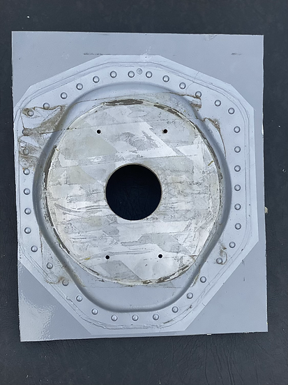 G-GDFH fuselage light fitting section