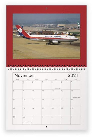 Custom made  wall calendar