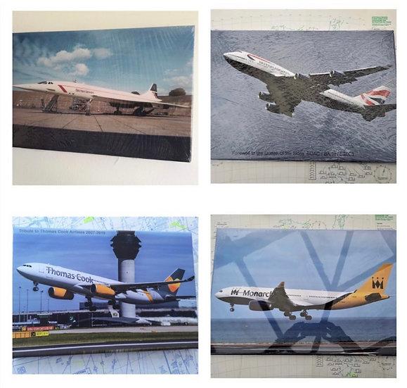 Custom made aviation canvas 60x40cm