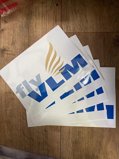 FlyVLM sticker