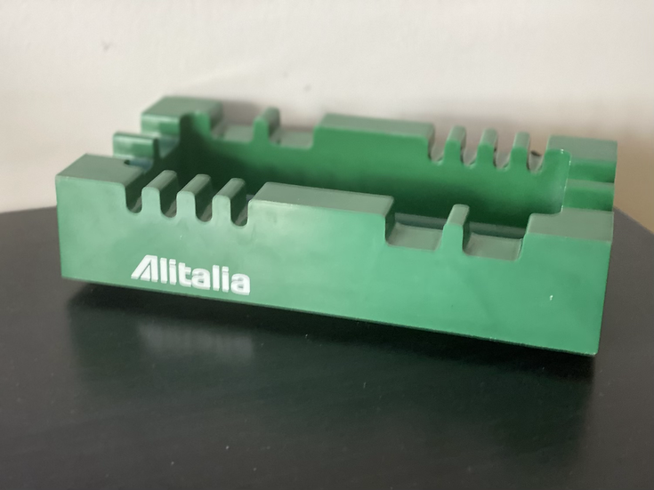 Alitalia retro ashtray