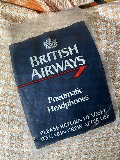 BA headphone plastic bag - no headphones