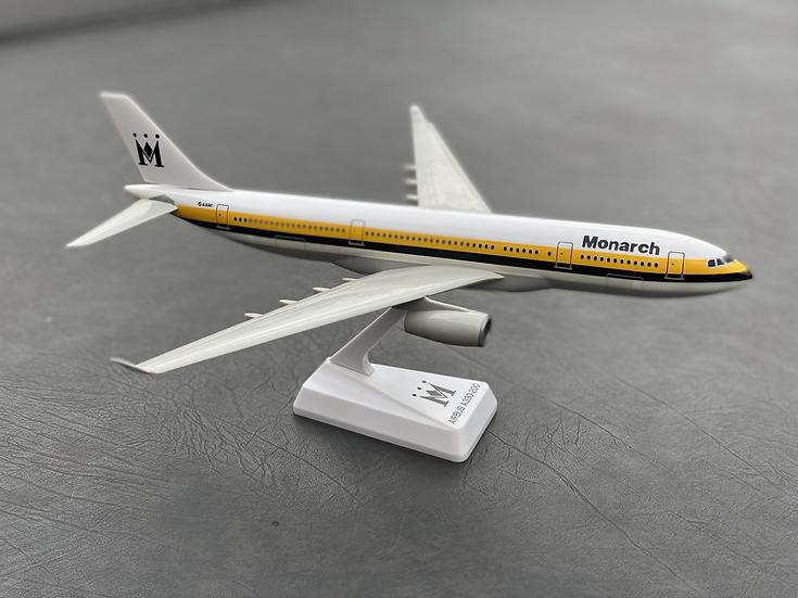 Monarch original livery A330 model