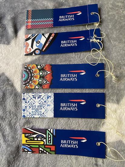 British Airways - Eutopia Luggage Tag each