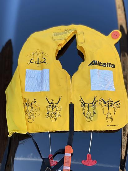 Alitalia life jacket