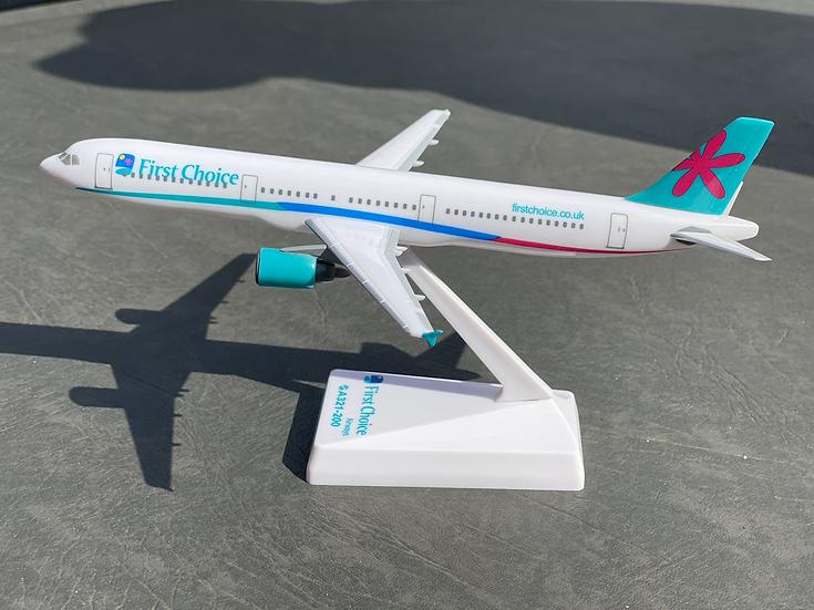 First Choice A321 aircraft model no box