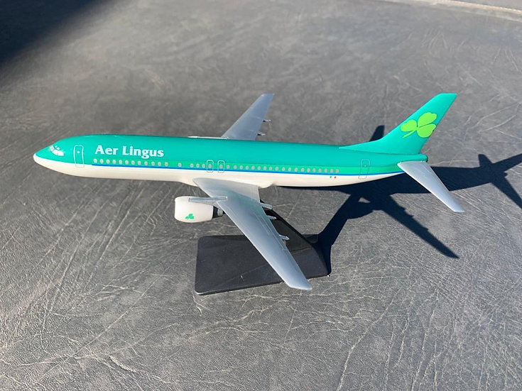 Aer Lingus 737 model with box