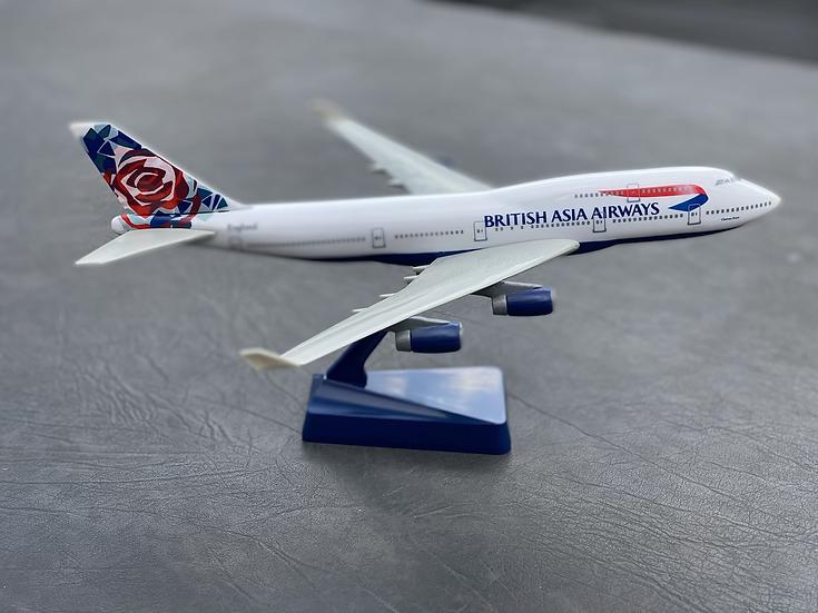 British Asia Airways B747-400 model
