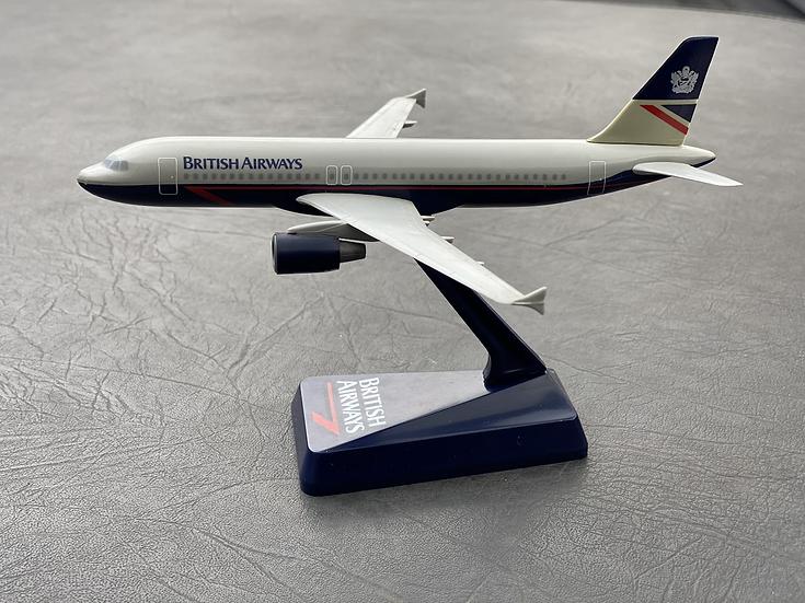 British Airways Landor A320 model