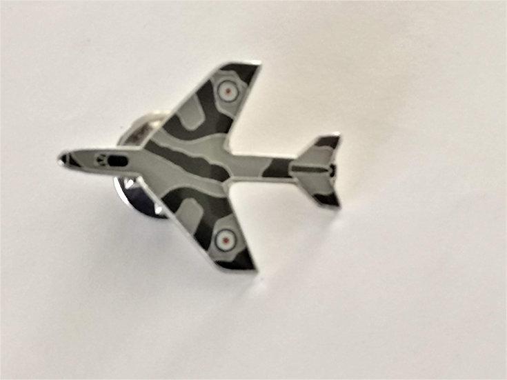 RAF Hawker Hunter pin badge