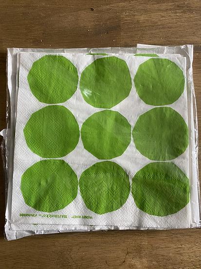 Marimekko designed  'kivet' napkins for Finnair (pack of six)