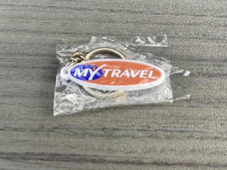 My Travel key ring
