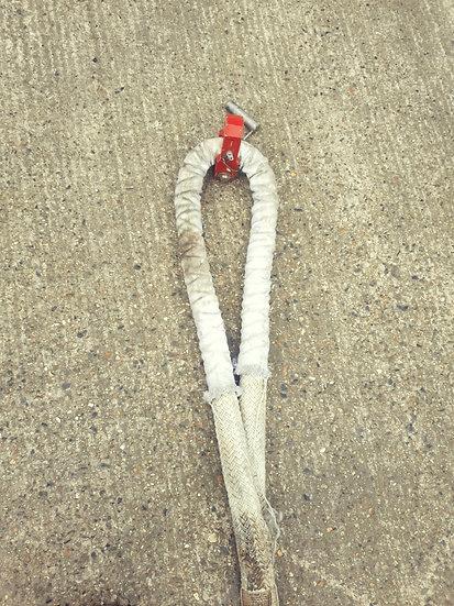 BAE146 aircraft tow rope