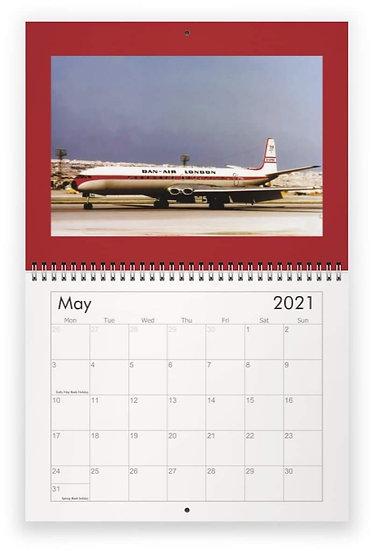 Dan Air wall calendar