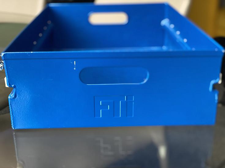 FTI metallic atlas drawer