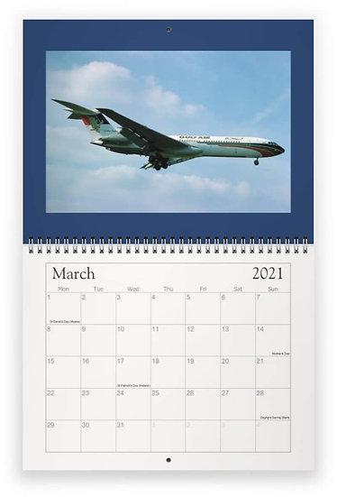 VC10 wall calendar