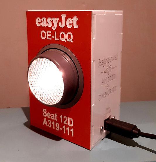 Easyjet A319 hand made with original PSU desk/wall light