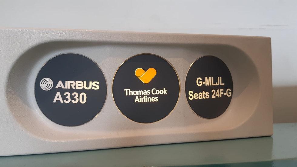Thomas Cook A330 PSU desk lantern