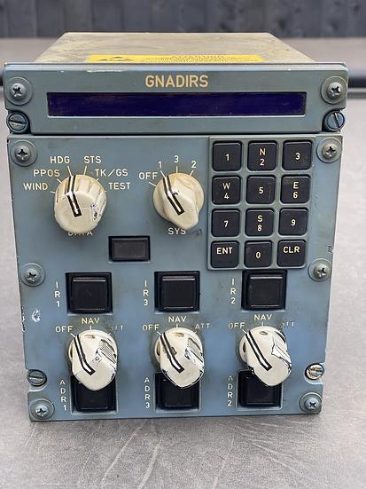 A320 ADIRS panel